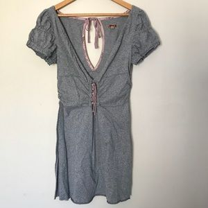 Free People Sz L cotton jersey beach coverup comfy